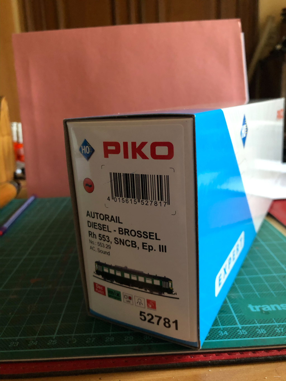 Autorail Brossel Rh 553 Piko Brosse12