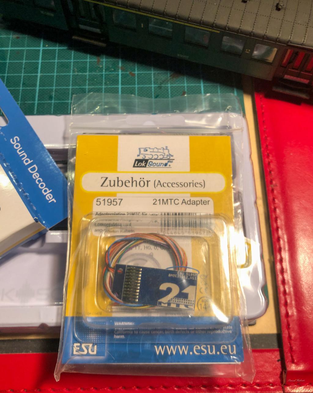 Digitalisation Märklin 37672 avec un ESU V5 Loksound Esu-310