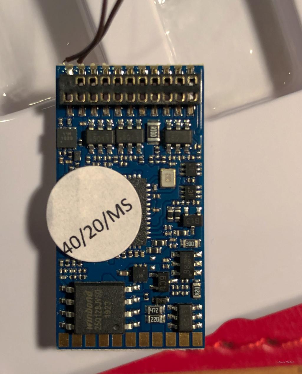 Digitalisation Märklin 37672 avec un ESU V5 Loksound Esu11
