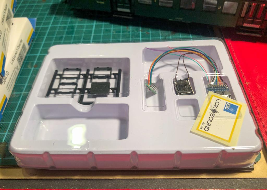 Digitalisation Märklin 37672 avec un ESU V5 Loksound Esu12