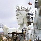 В Польше освятили самую высокую в мире статуя Христа 0040bd10