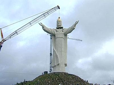 В Польше освятили самую высокую в мире статуя Христа 1482ac10