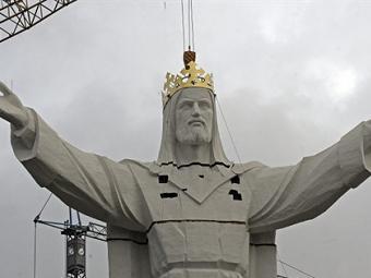 В Польше освятили самую высокую в мире статуя Христа 3b186d10