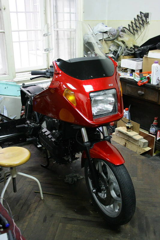 Restoration of my K100 rt 0610