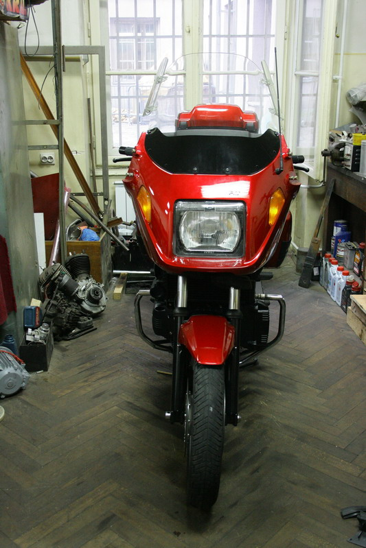 Restoration of my K100 rt 0810