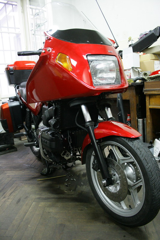 Restoration of my K100 rt 0910
