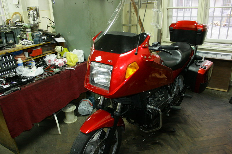 Restoration of my K100 rt 1010