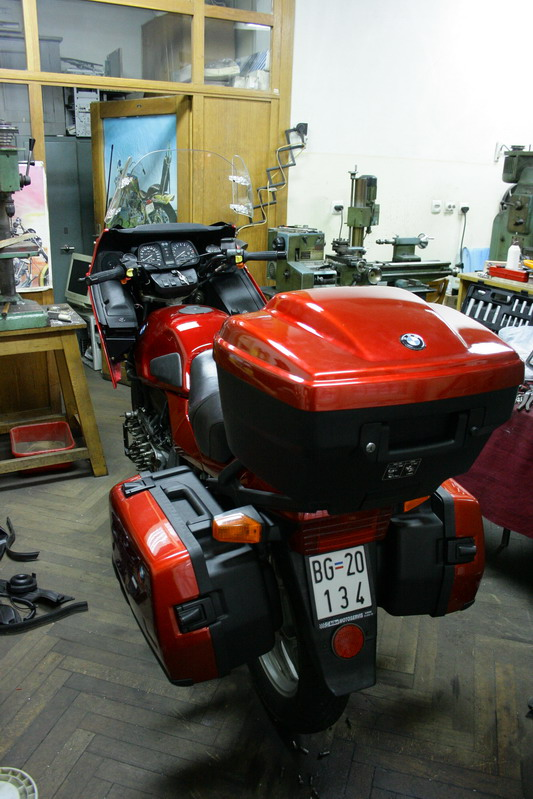 Restoration of my K100 rt 1310