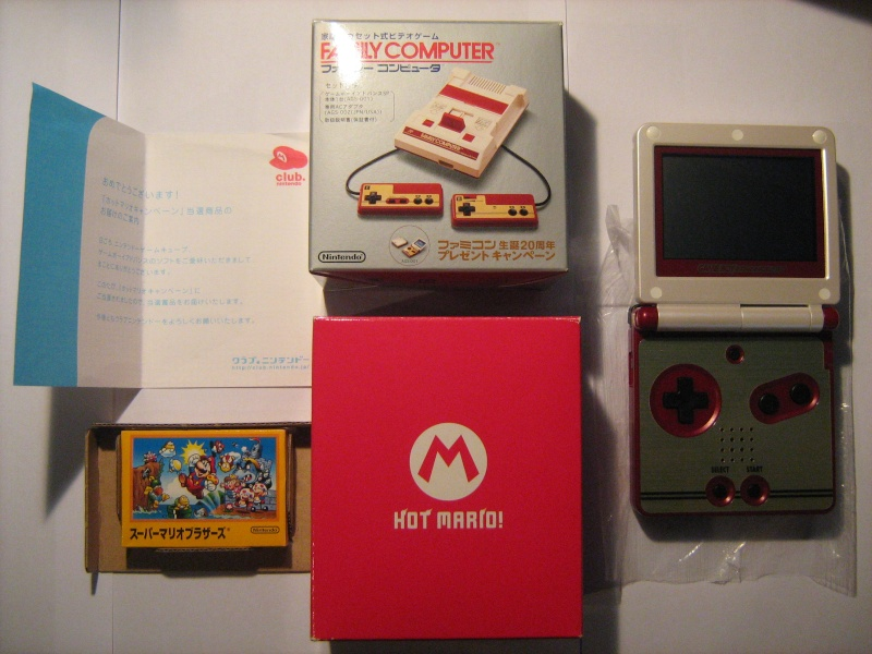 Ma collection mario : blister/console/jeux RARE et LIMITED (NEW 8/06) - Page 2 02810