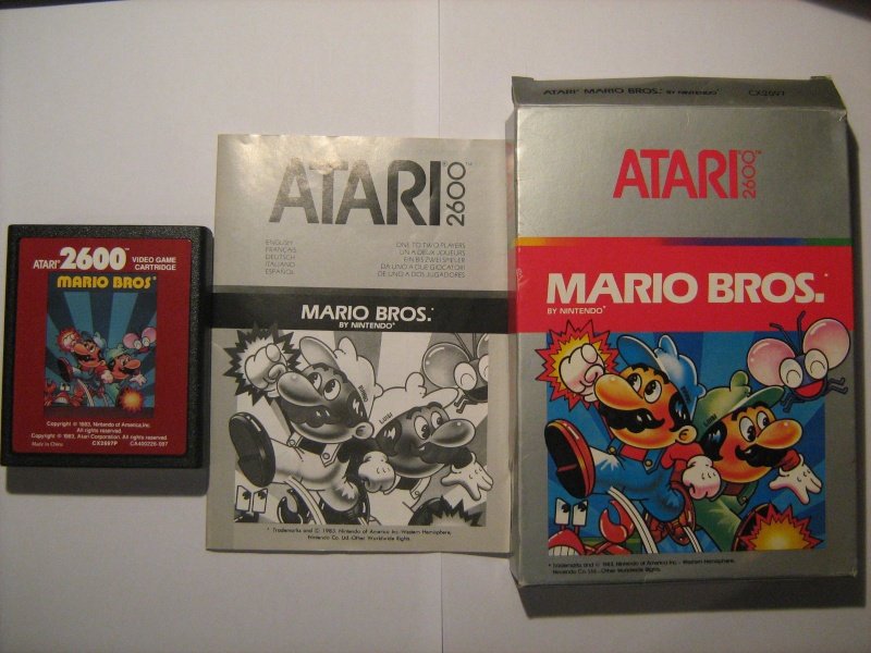 Ma collection mario : blister/console/jeux RARE et LIMITED (NEW 8/06) - Page 2 04210