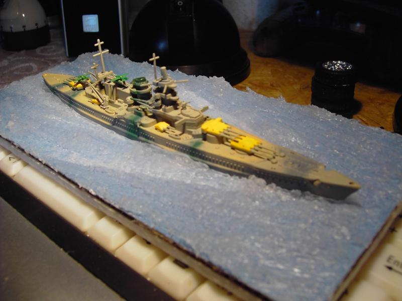 Kleine ganz groß Gneisenau-Scharnhorst Revell 1:1200 Pict0011