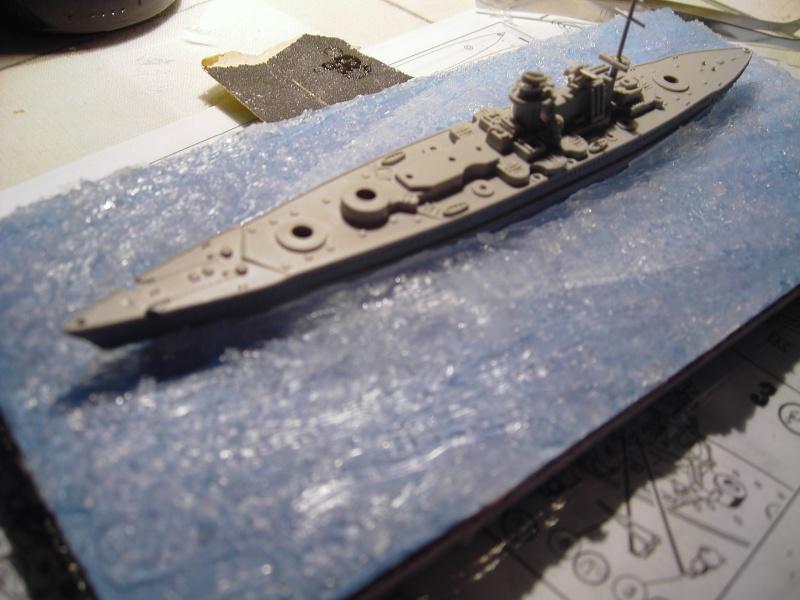 Kleine ganz groß Gneisenau-Scharnhorst Revell 1:1200 Pict0012