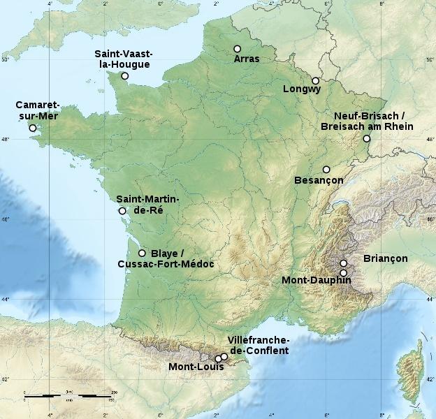 VAUBAN Oisivetés et citadelles _a0_ac11