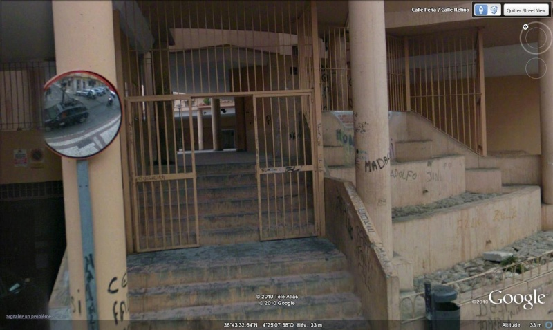 STREET VIEW : la Google car dans tous ses états ! - Page 3 Malaga10