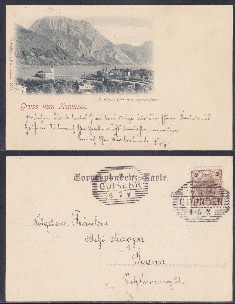 mannaro`s  SALZKAMMERGUT 189710