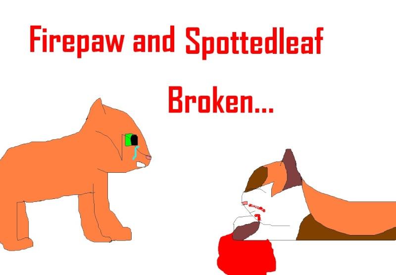 Spottedleaf and Firepaw (warriors fans) Firepa10