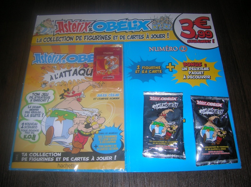 N°1 Astérix et Obélix cartes + figurines - Test hachette Test110