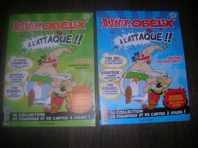 N°1 Astérix et Obélix cartes + figurines - Test hachette Test210