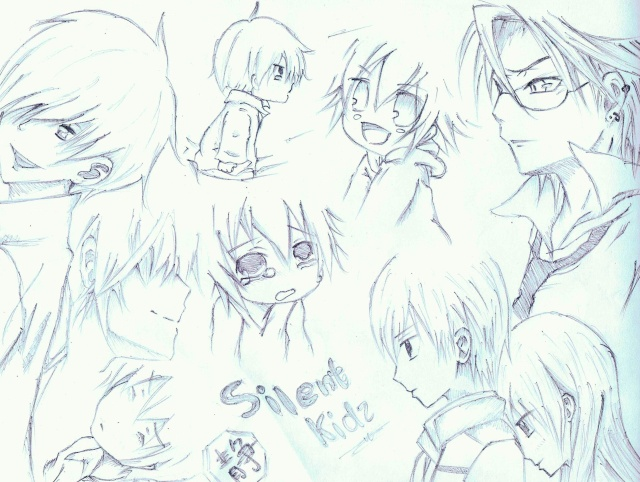 Some Anime Drawing i did... XD Mix10
