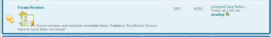 Un forum pour donner notre opinion sur les forums des autres membres Review10