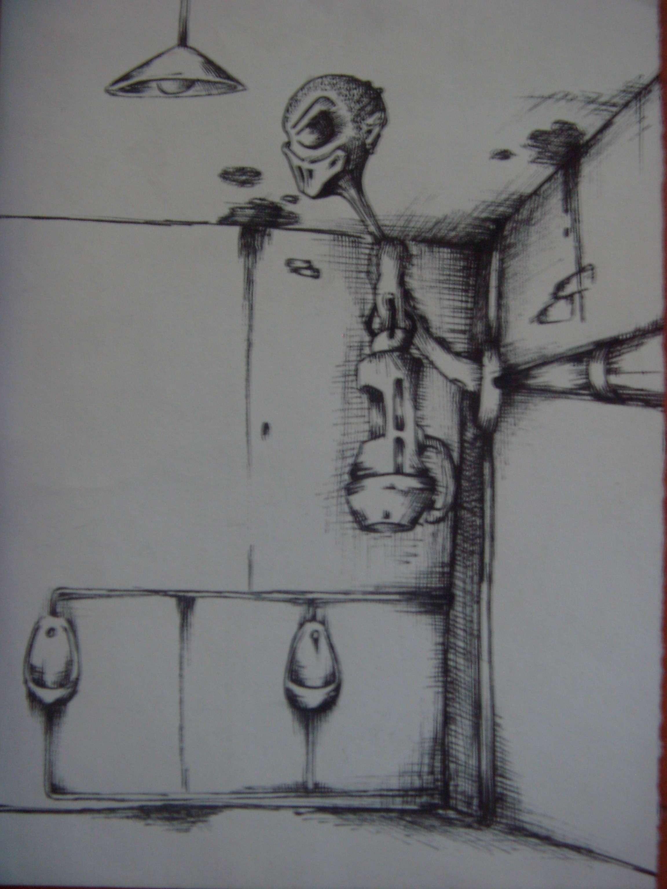 petit delir entre potes: le gardien des toilettes Chiote10