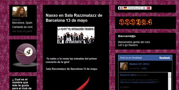 Blog no oficial de Naxxo Blog10