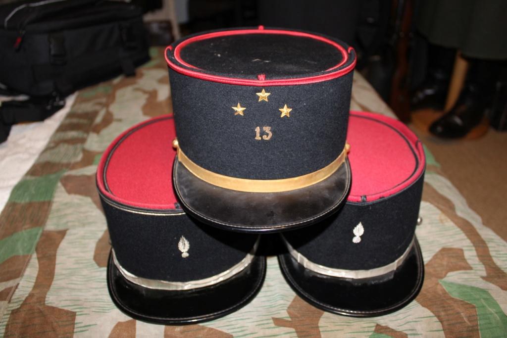 Képis Français + plaque de casque Adrian 14-18 01110