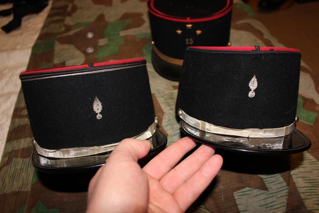 Képis Français + plaque de casque Adrian 14-18 01210