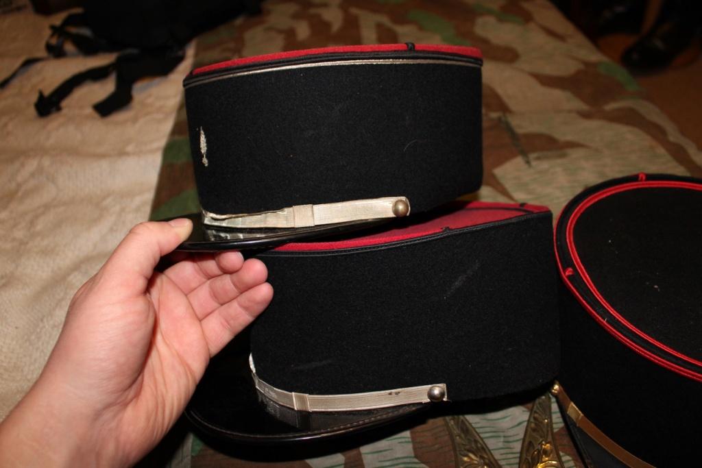 Képis Français + plaque de casque Adrian 14-18 01310