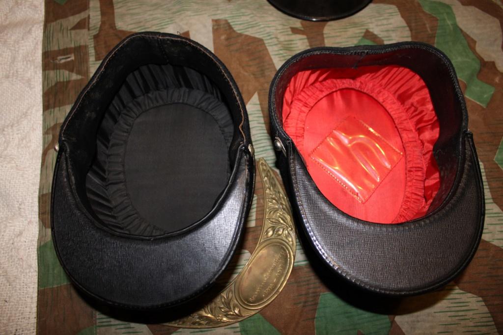 Képis Français + plaque de casque Adrian 14-18 01410