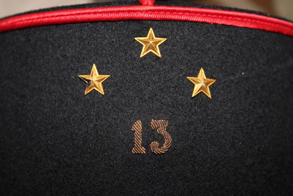 Képis Français + plaque de casque Adrian 14-18 01510