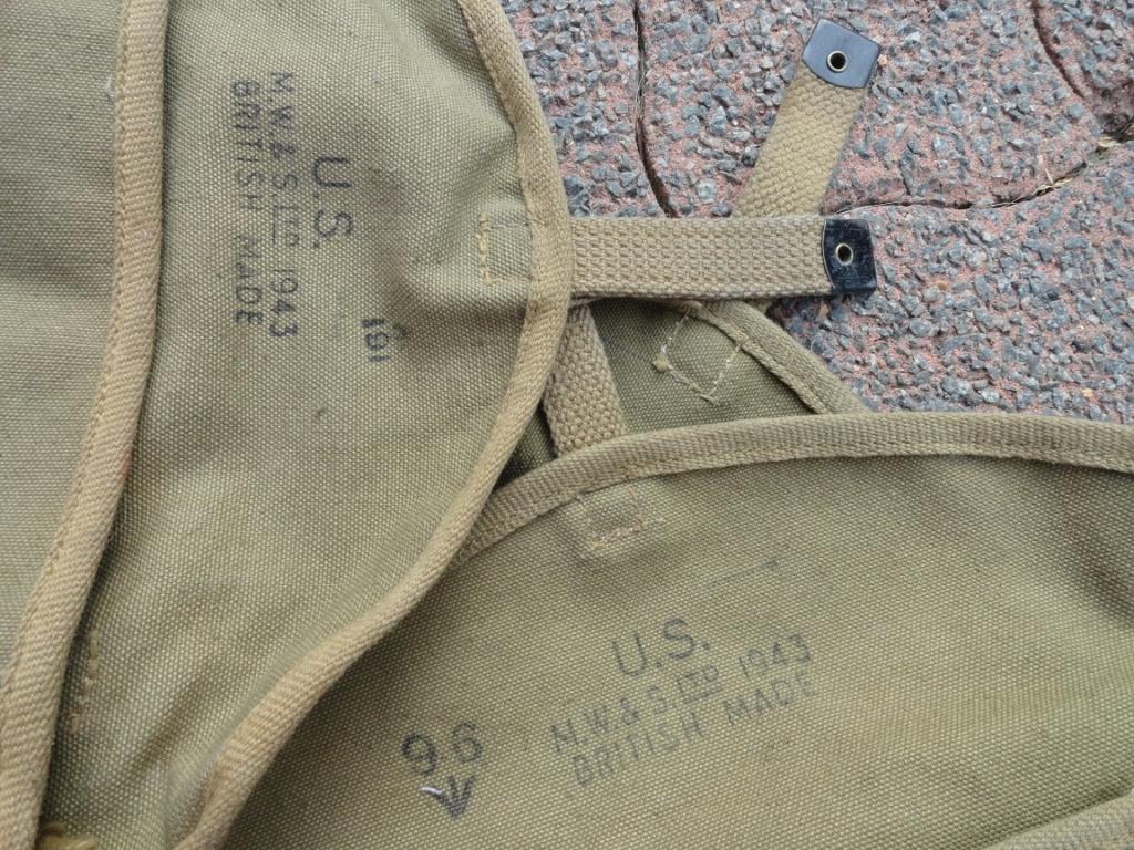 3 Pochettes à gamelle US Original..??? 0811