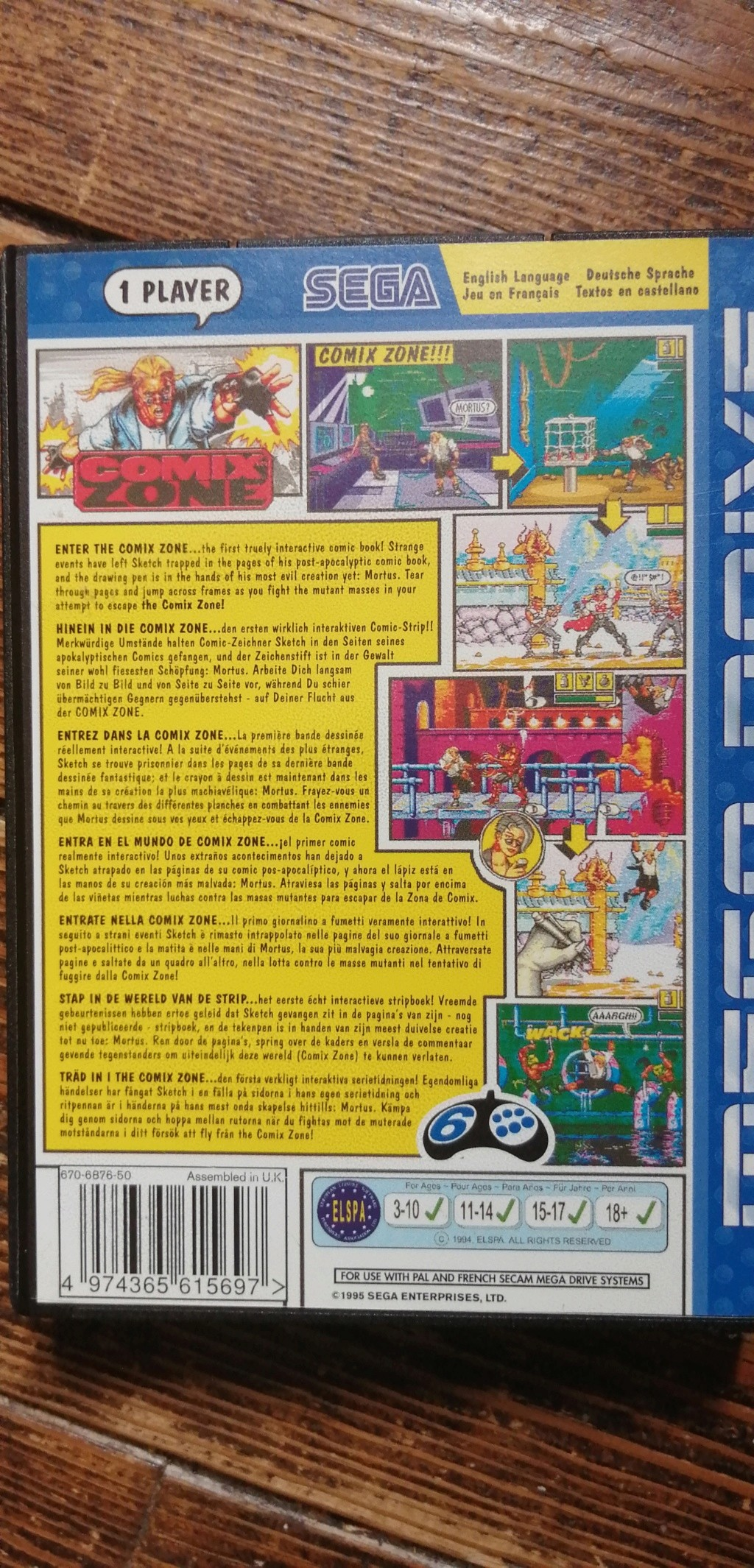 [Ech] Comix Zone MD complet comme neuf(boîte, cartouche, notice, CD)  Img_2021