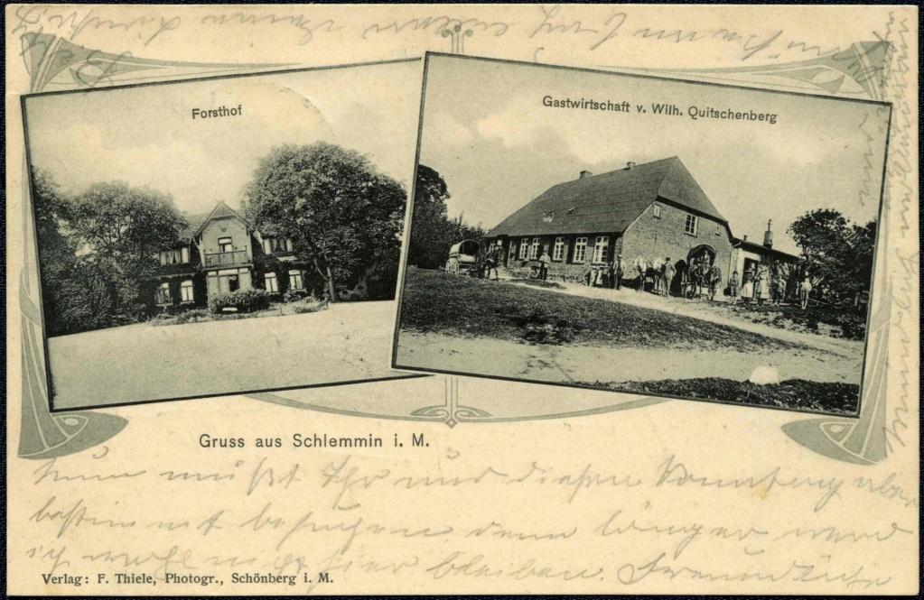Mecklenburg und Pommern auf Ansichtskarten 1906-010