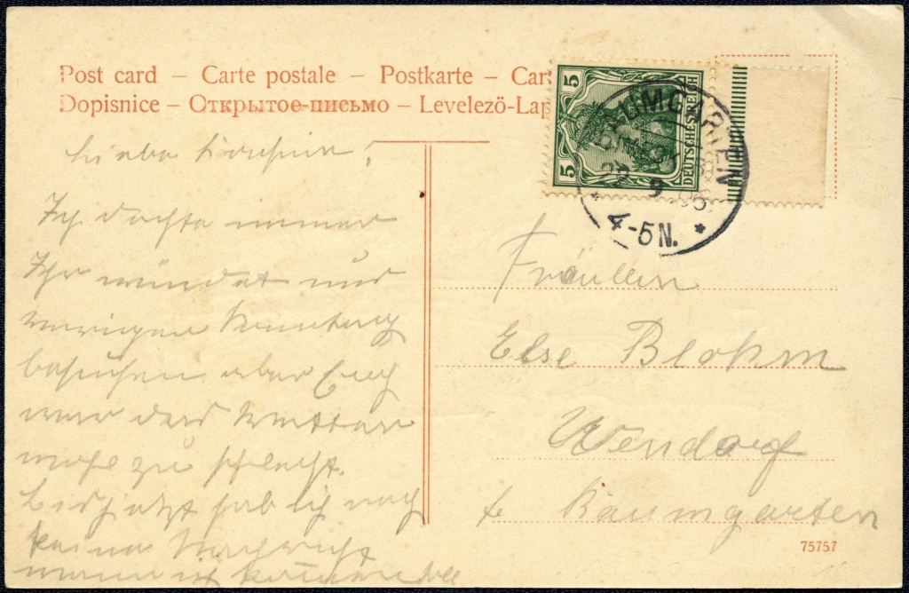 Mecklenburg und Pommern auf Ansichtskarten 1906-011