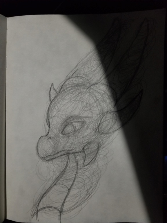 Dragon Sketch 20200210