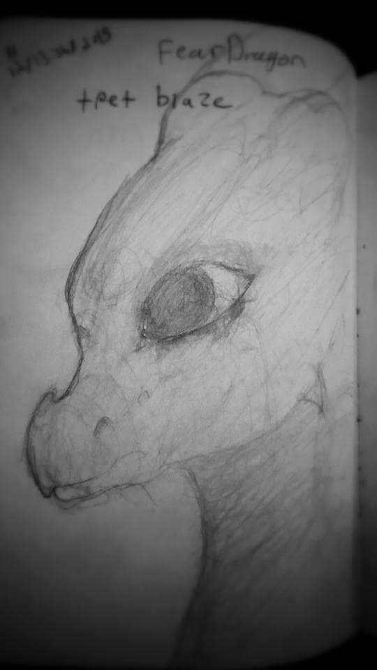 Dragon Portrait Sketch 21317410