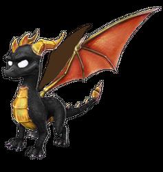 Spyro's Lair -  dragon photoshops Dark_s10