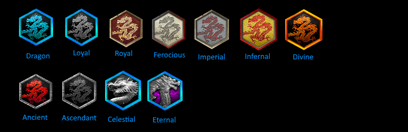 New generic dragon ranks - concept Discor11