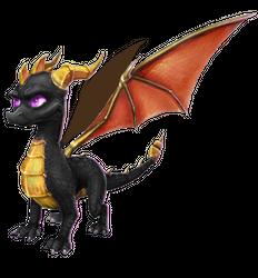 Spyro's Lair -  dragon photoshops Fury_d10