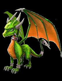 Spyro's Lair -  dragon photoshops Limecy10