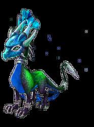 Spyro's Lair -  dragon photoshops Peacoc10