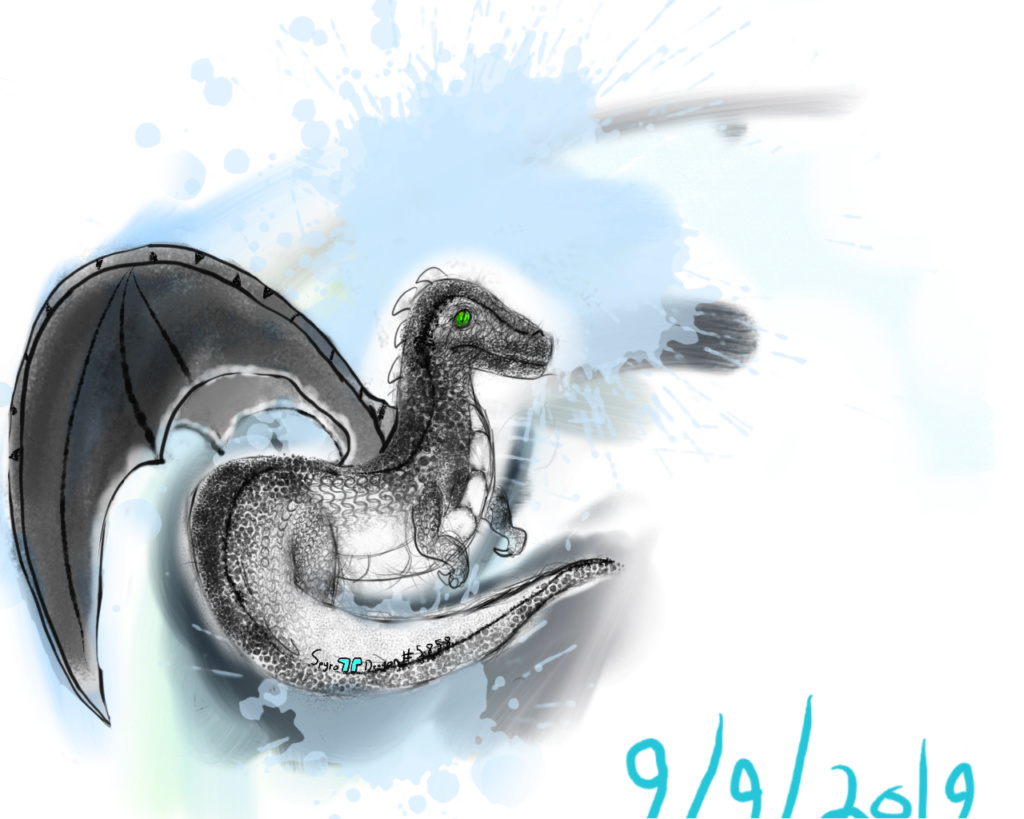 Contest #6 - Raptor Dragon - Paper or Digital Raptor10