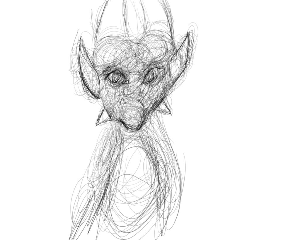 dragon sketch Sketch10