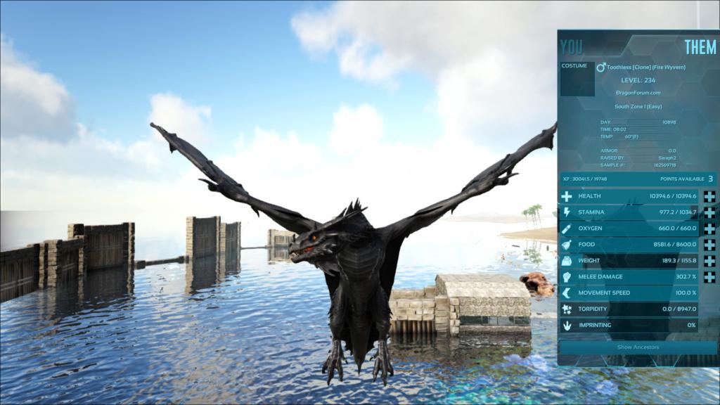 Wyvern - Toothless - All Black - Clone Untitl54