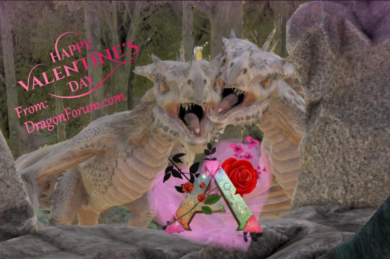 Dragon Forum Logo (Valentines Edition)  Valent10