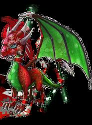 Spyro's Lair -  dragon photoshops Xmas_c10