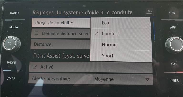 [Modes de conduite] Mode de conduite Aide_c10
