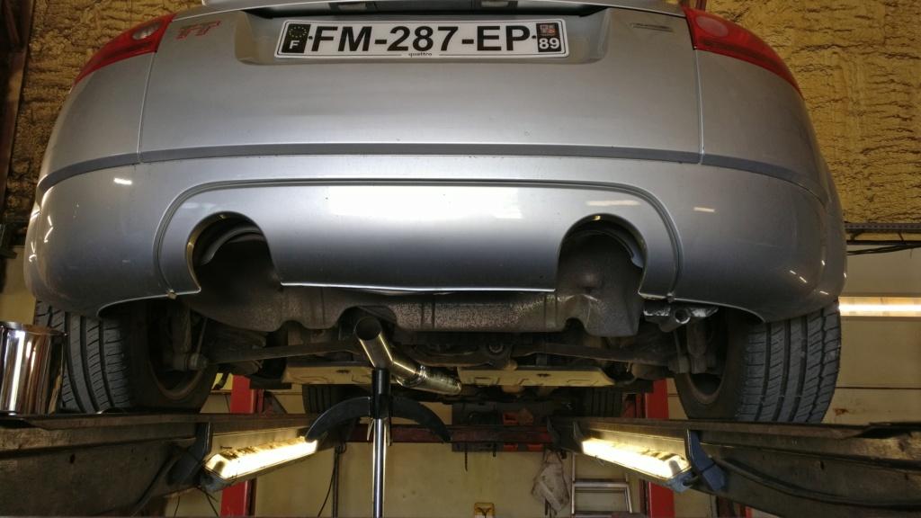 TT Mk1 180 Quattro RHD  Instal10