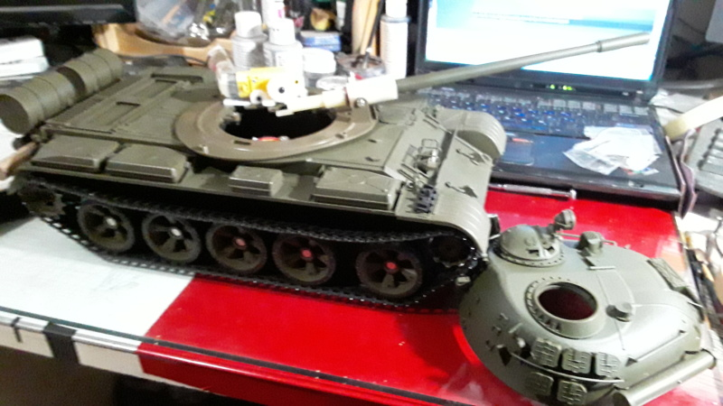 Building a T55-A for someone 20190915